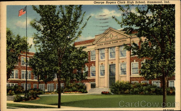George Rogers Clark High School Hammond Indiana