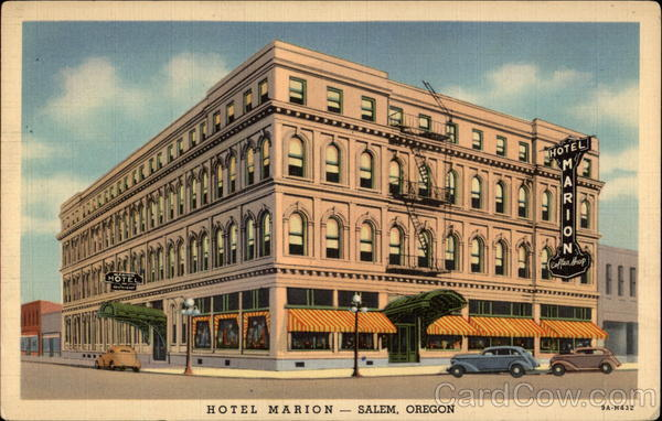 Hotel Marion Salem Oregon