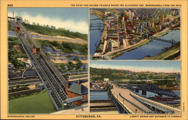 Monongahela Inclined Plane in Pittsburgh Pennsylvania