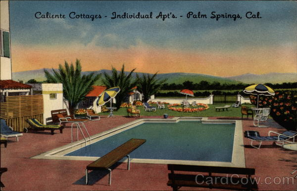 Caliente Cottages Palm Springs California