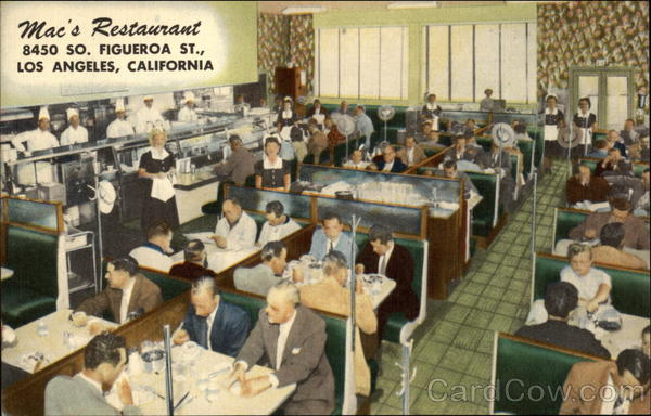 Mac's Restaurant Los Angeles California