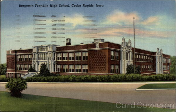 Benjamin Franklin High School Cedar Rapids Iowa