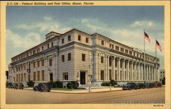 Federal Building and Post Office Miami Florida