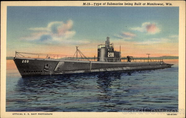 Type of Submarine being Built at Manitowoc, Wis Wisconsin
