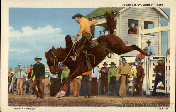 Frank Finley, Riding Joker Rodeos