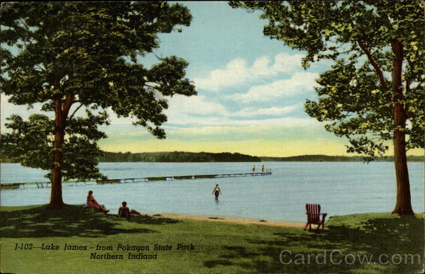 Lake James--from Pokagon State Park, Northern Indiana