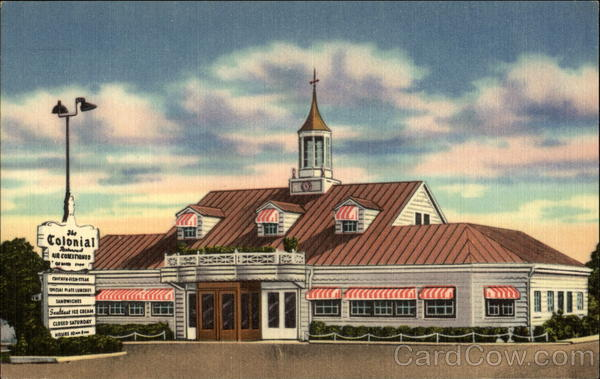 Colonial Restaurant, Fort Wayne, Ind Indiana