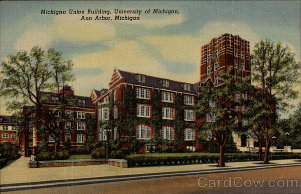 Michigan Union Building, University of Michigan Ann Arbor