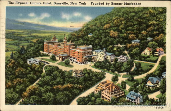 The Physical Culture Hotel Dansville New York