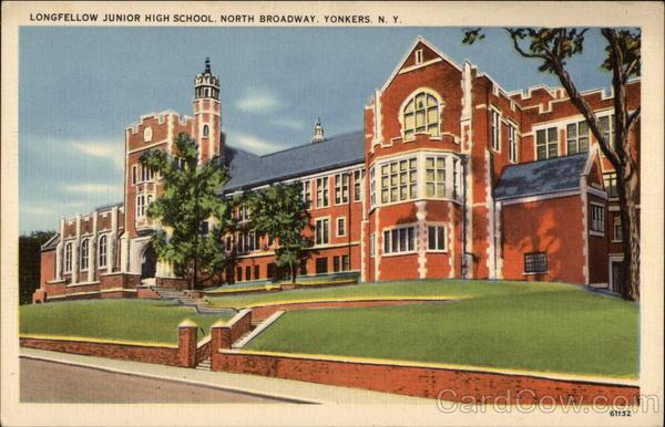 Longfellow Junior High School Yonkers New York