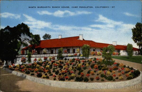 santa margarita ranch house  camp pendleton  california