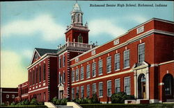 Richmond Senior High School Postcard