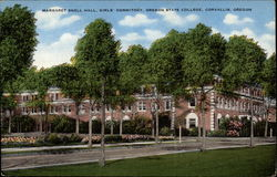 Margaret Snell Hall, Girls' Dormitory, Oregon State College