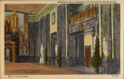 Memorial Hall, Louisiana State Capitol
