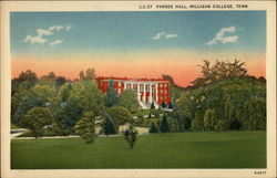 Pardee Hall, Milligan College Postcard