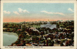 State Capital from Daniel Boone Monument Postcard