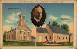 Calvin Coolidge, Born July 4th, 1872