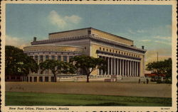 New Post Office, Plaza Lawton Postcard
