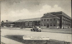 Theatre, Gymnasium and Pool, Langley Field Postcard