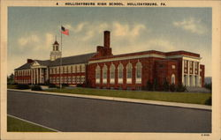 Hollidaysburg High School Postcard