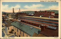 Corning Glass Works, Corning, N.Y., the Crystal City