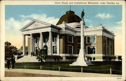Court House and Confederate Monument