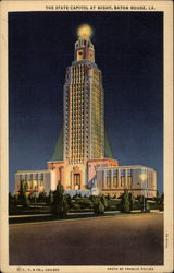 The State Capitol at Night