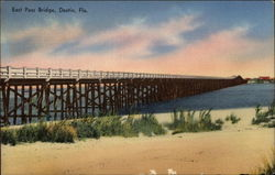East Pass Bridge Postcard