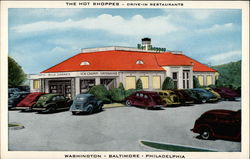 The Hot Shoppes-- Drive-In Restaurants