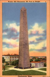 Bunker Hill Momument, 221 Feet in Height