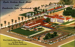 Santa Barbara Beach Motel and Breakwater Patio Apartments