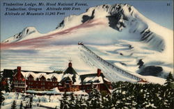 Timberline Lodge, Mt. Hood National Forest