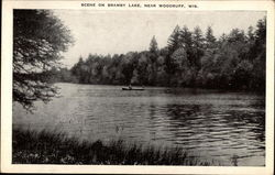 Scene on Bramby Lake, Near Woodruff