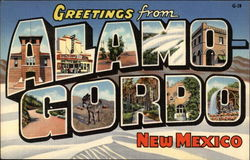 Greetings from Alamogordo, New Mexico