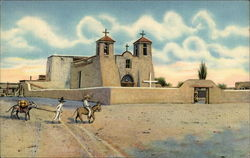 Church at Ranchos de Taos, New Mexico