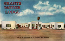 Grants Motor Lodge, On U.S. Highway 66