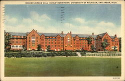 Mosher Jordan Hall (Gilr's Dormitory) University of Michigan