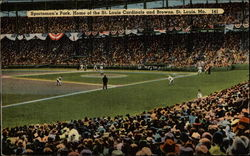 Sportsman's Park, Home of the St. Louis Cardinals and Browns