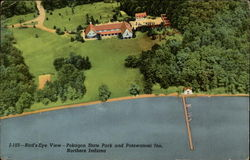 Bird's-Eye View - Pokagon State Park and Potawatomi Inn