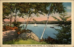 Greetings from Laurel Park Hotel