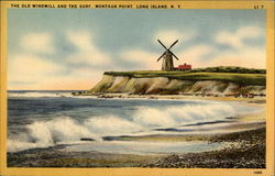 The Old Windmill and the Surf