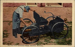 The first Ford, Greenfield Village, Dearborn, Michigan