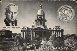 Illinois Capitol building and Carpenter, Sec'y of State