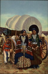 Navajo Women in Native Gard
