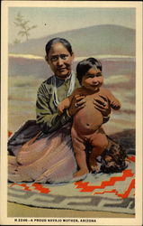 A proud Navajo mother