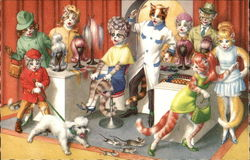 Cats at Beauty Shop