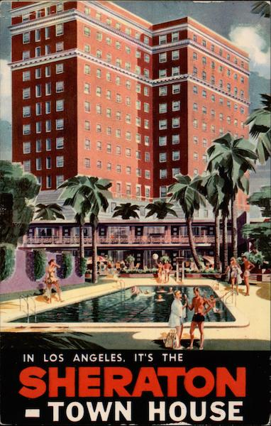 The Sheraton-Town House Los Angeles California