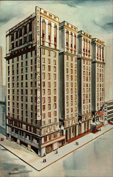 Times Square Motor Hotel New York Ny