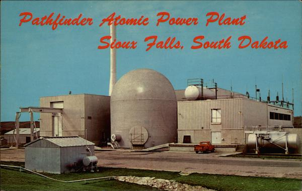 Pathfinder Atomic Power Plant Sioux Falls South Dakota
