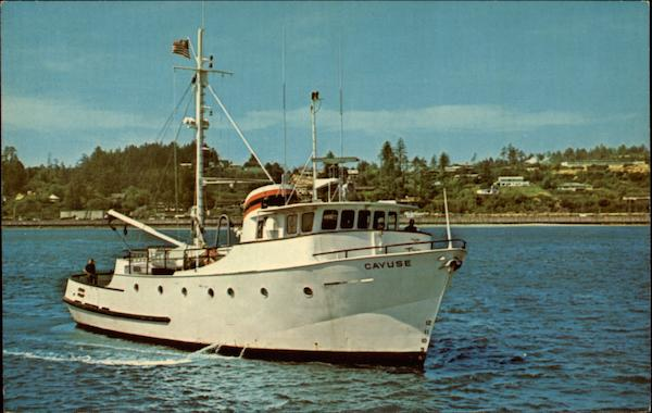 R. V. Cayuse at Marine Science Center - Oregon State University Newport